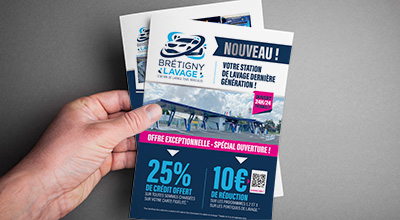 Flyer Bretigny Lavage