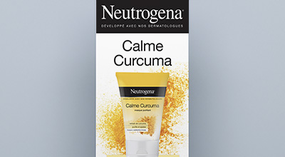 Roll Up Neutrogena Calme Curcuma